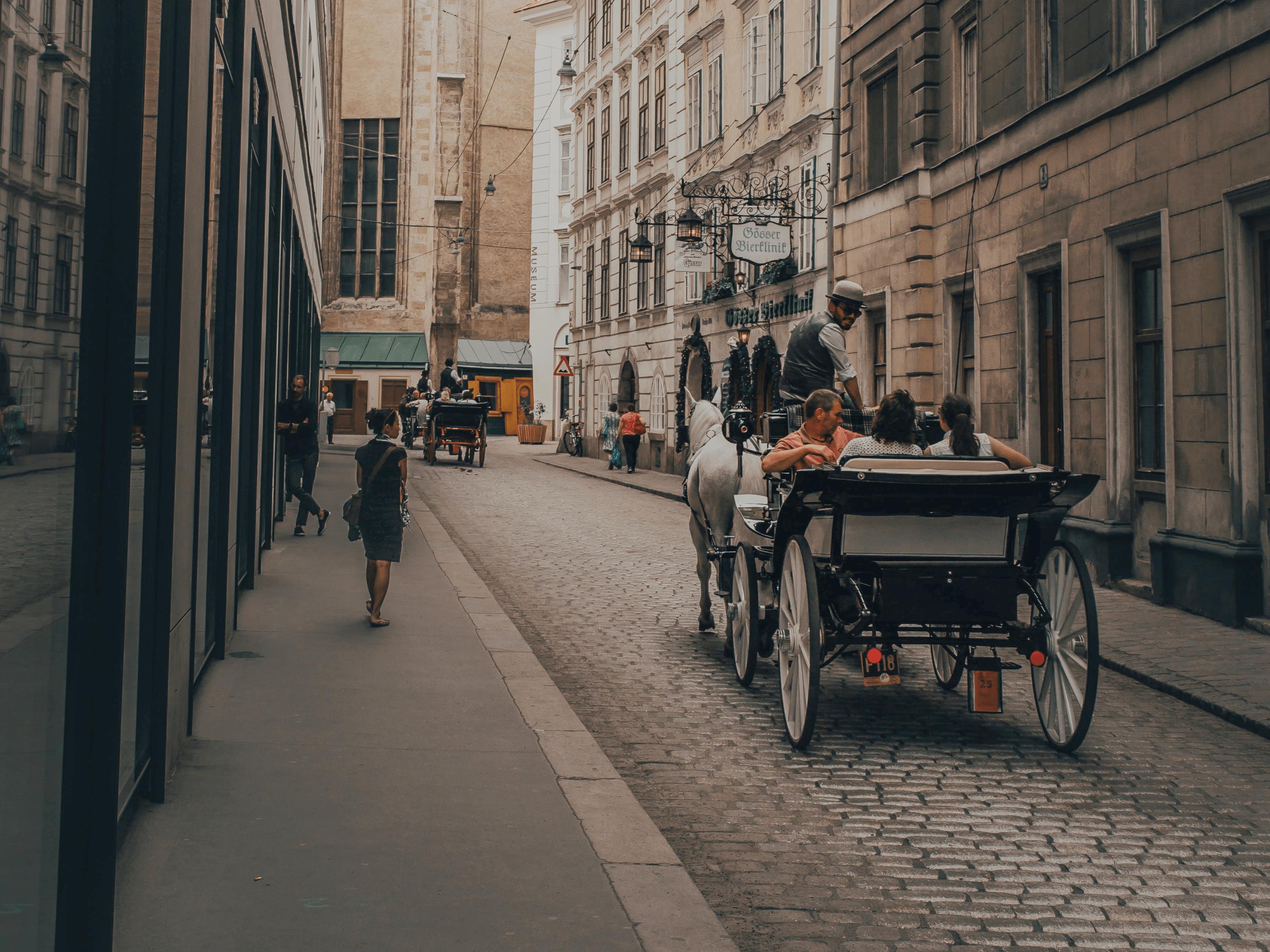 Fiaker in der Wiener Altstadt