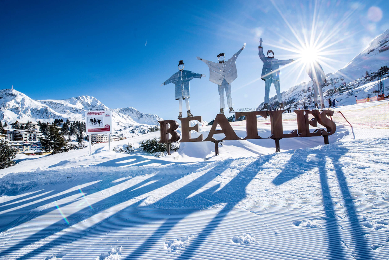 Winteransicht Obertauern