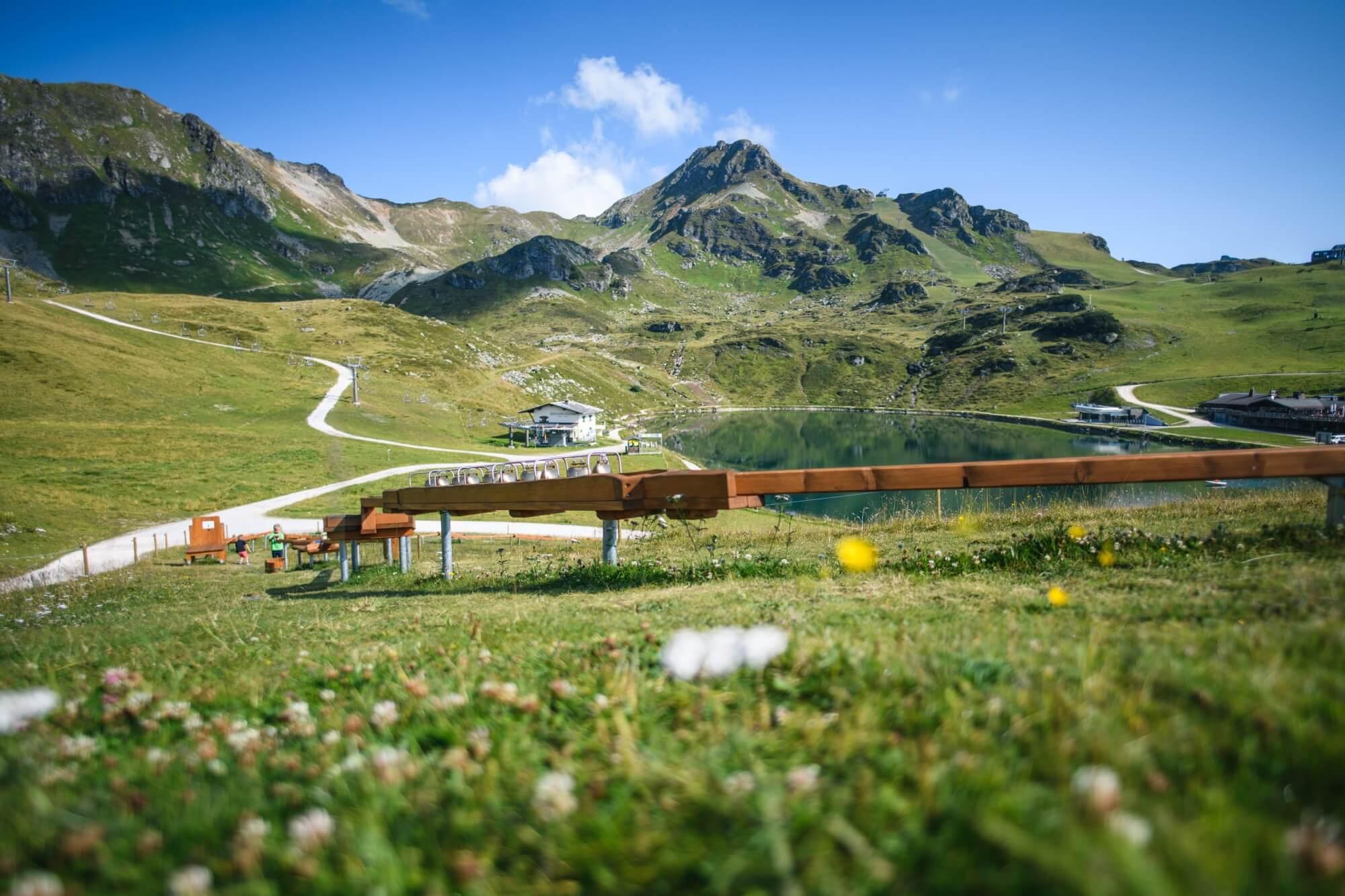 Kugelbahn in Obertauern