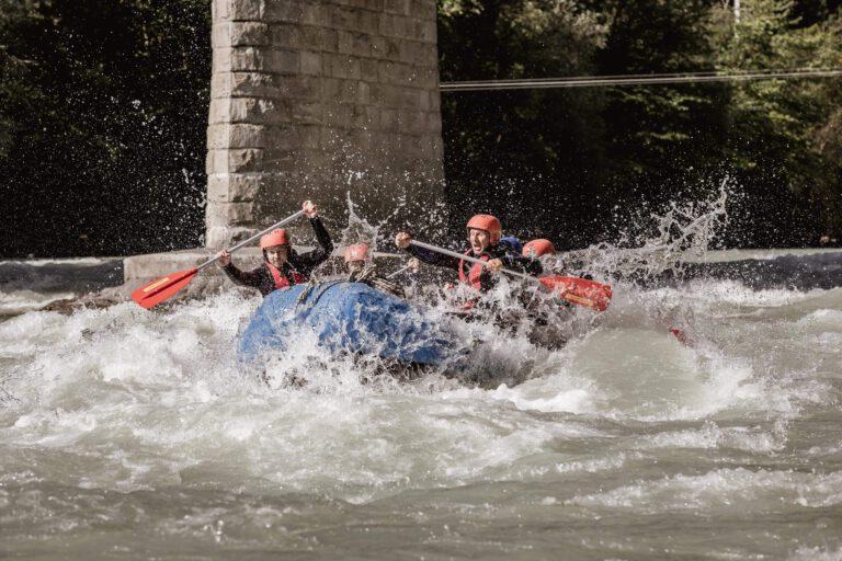 Rafting in Imst