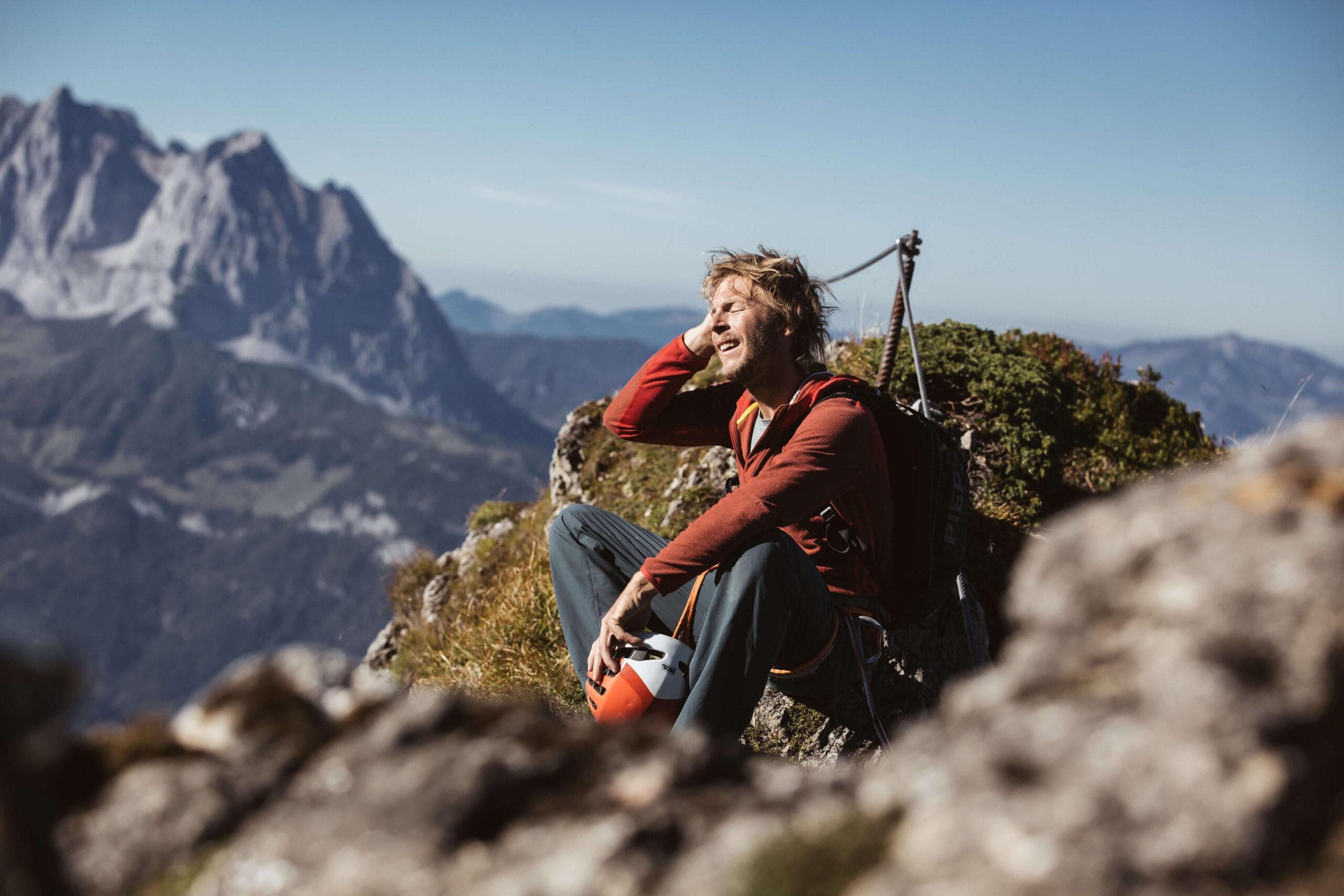 Wanderer in Kitzbühel