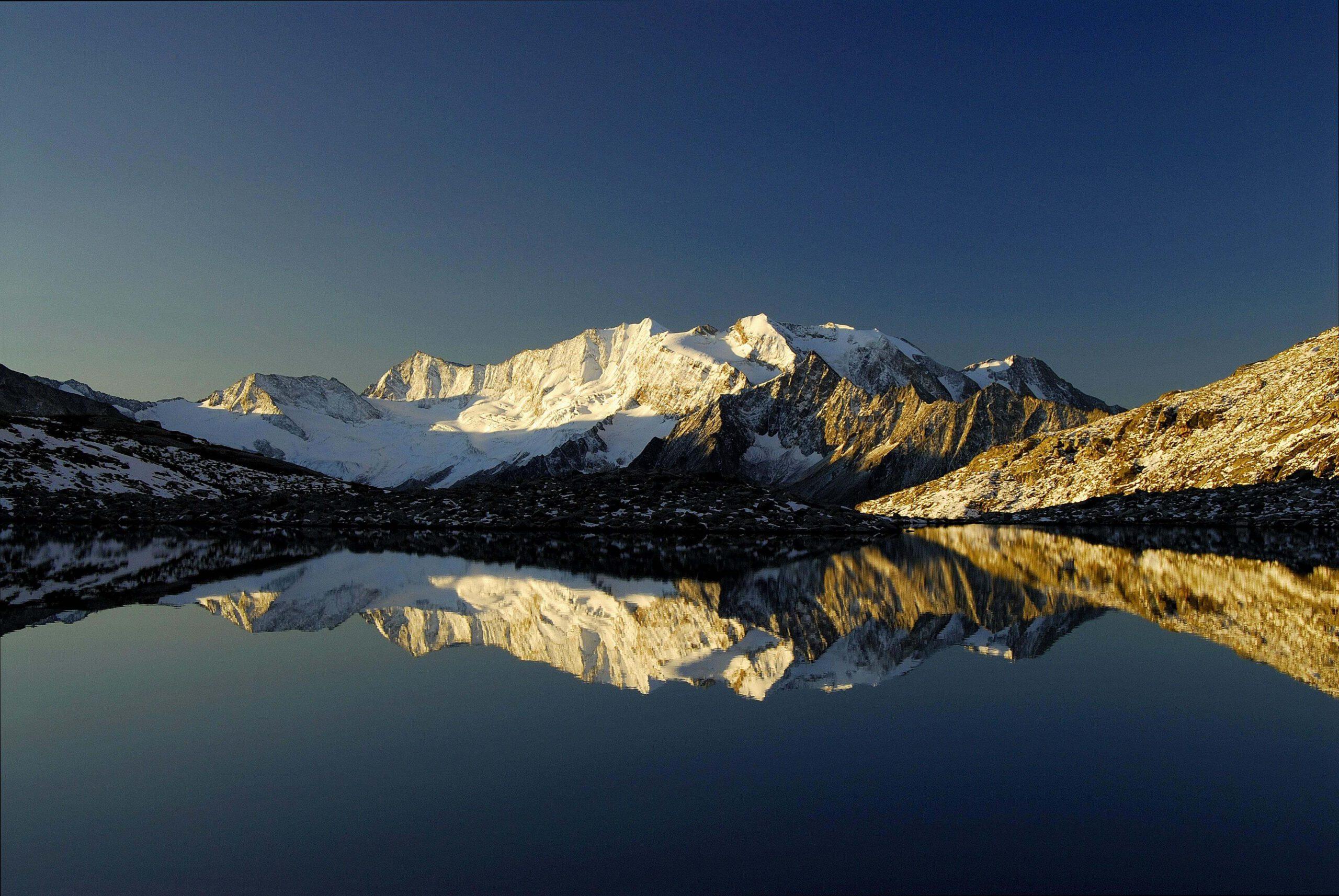 Berg Panorama in Mayrhofen