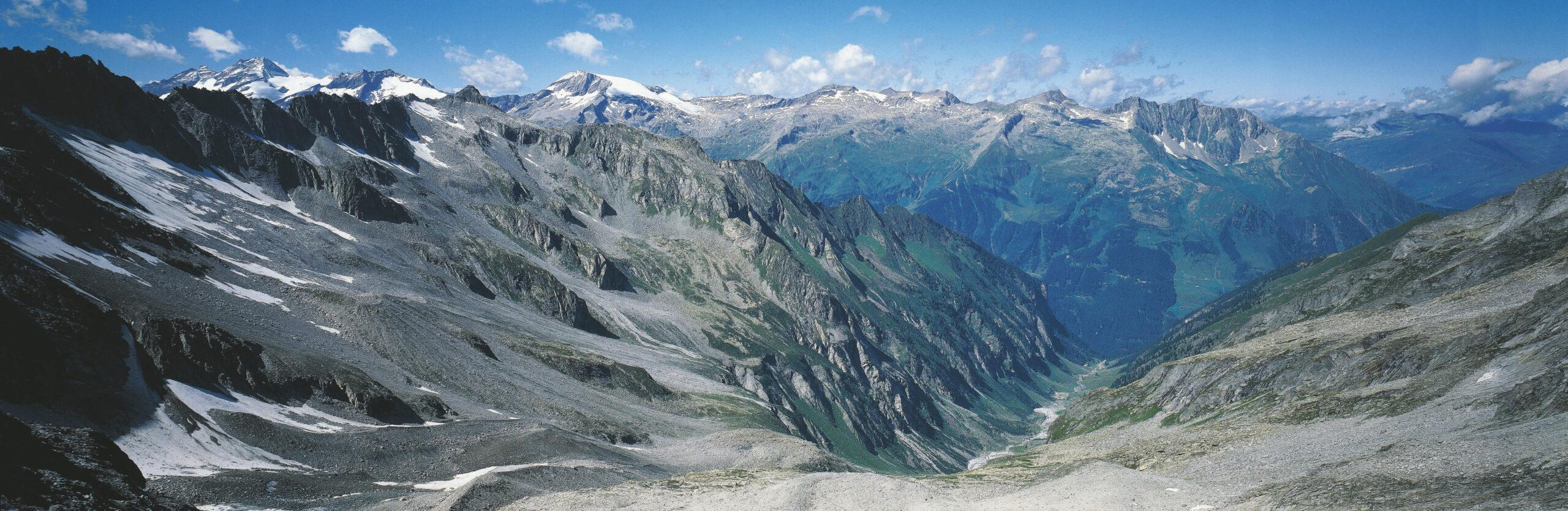 Panorama der Zillertaler Alpen
