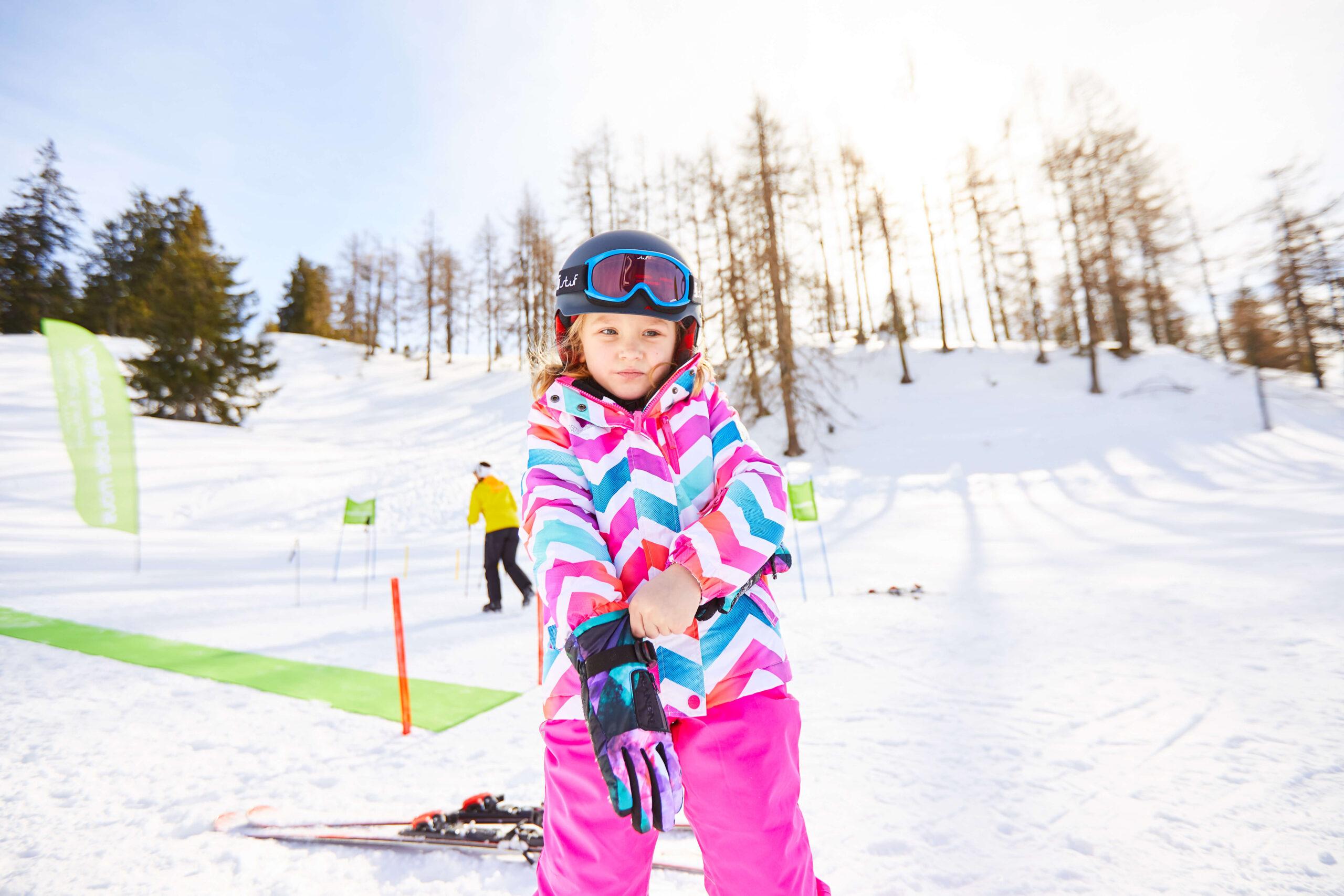 Skikurs in St. Johann