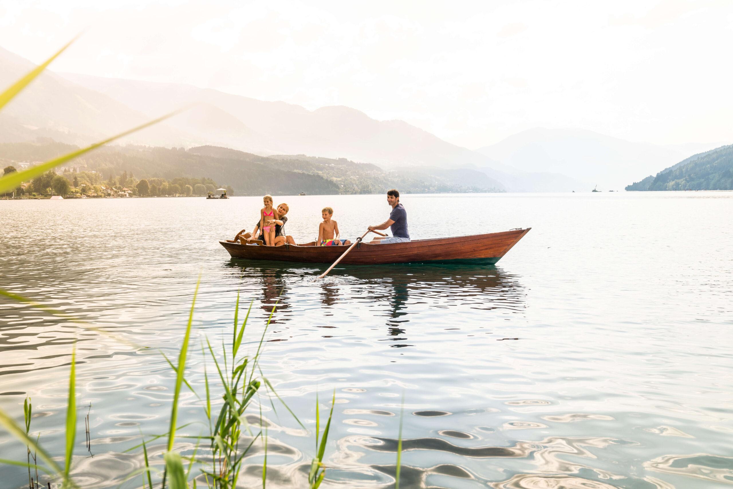 Bootsfahrt Millstätter See