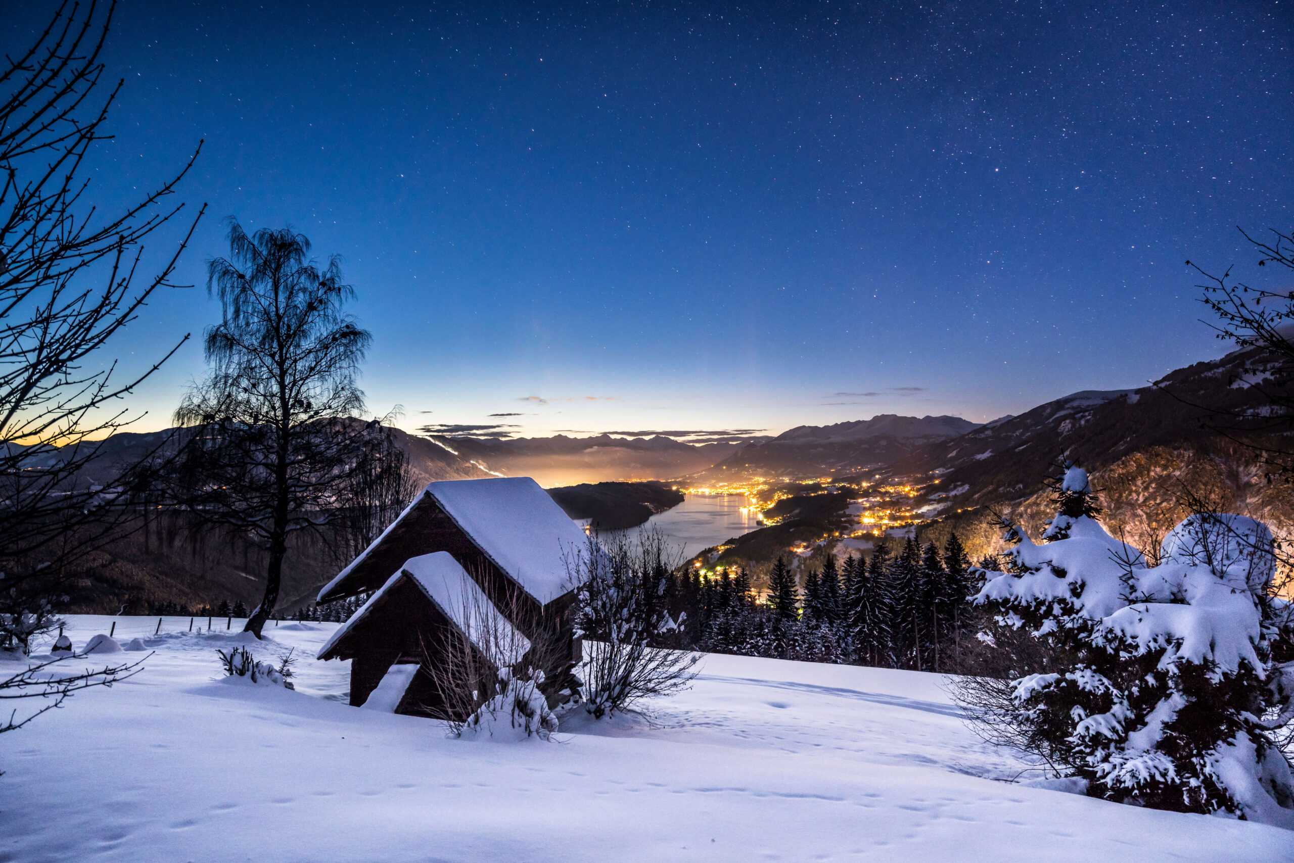Winter-Romantik am Millstätter See