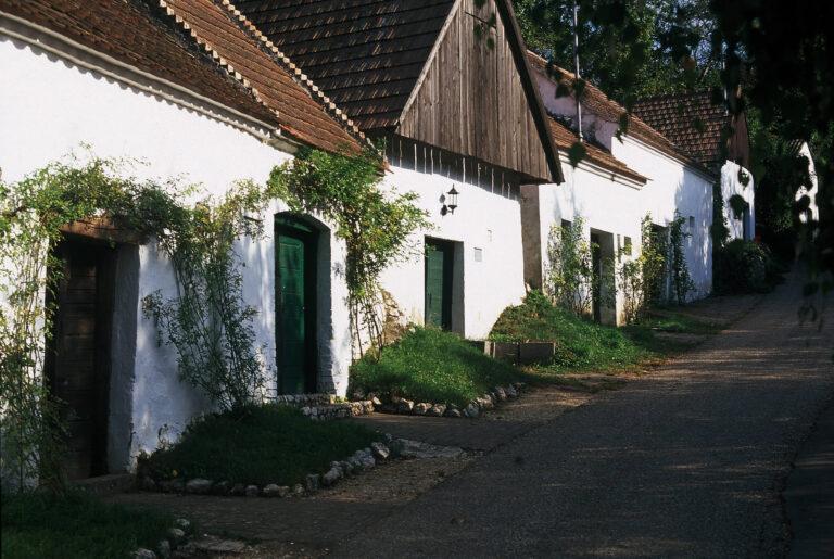 Kellergasse im Weinviertel