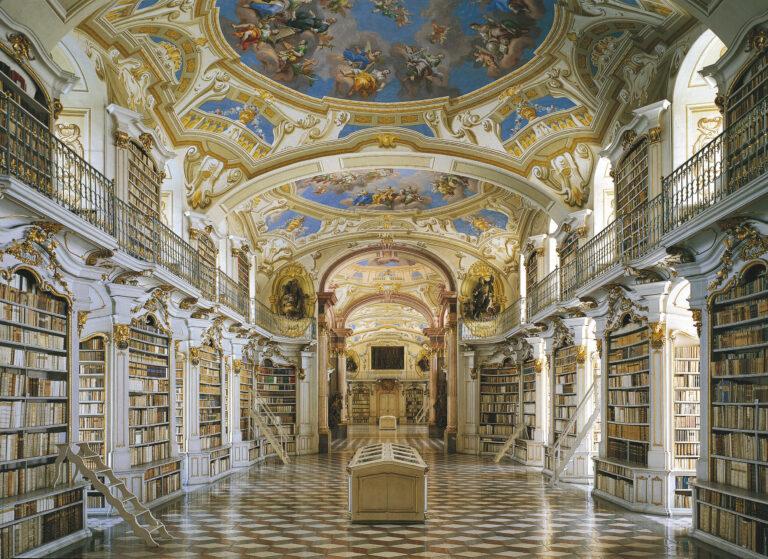 Stiftsbibliothek am Gesäuse