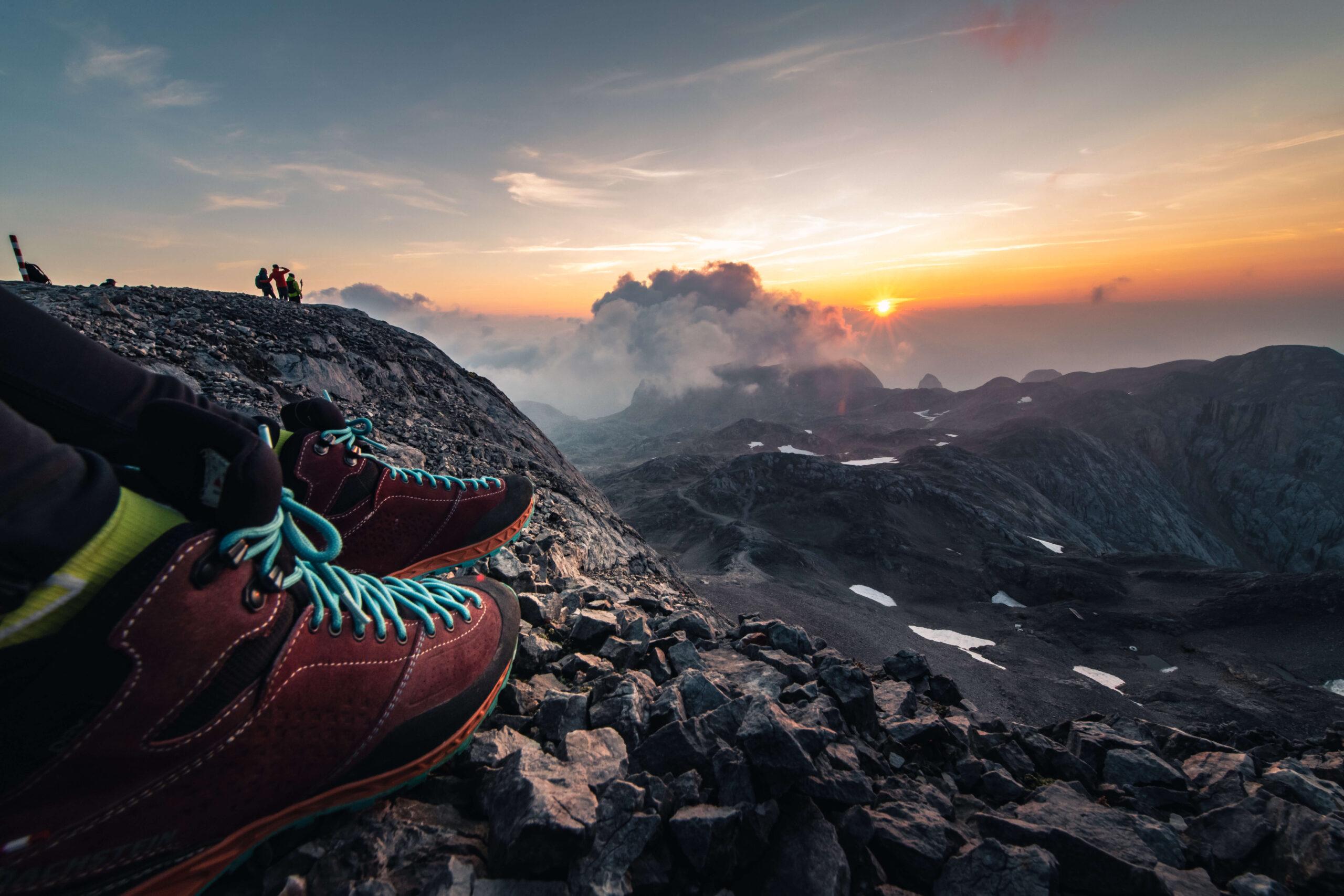 Bergblick in der Region Hochkönig