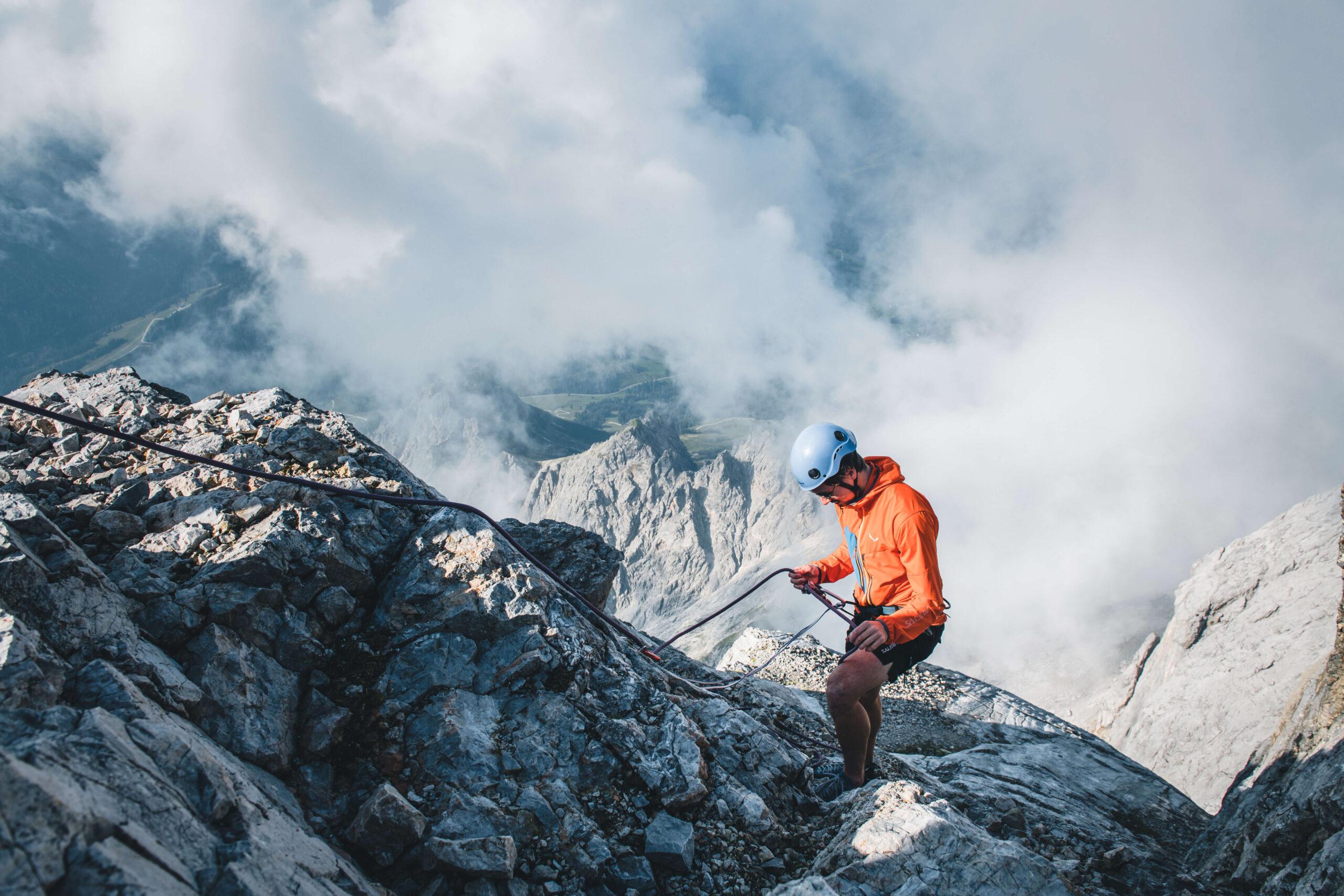 Kletterer in der Region Hochkönig