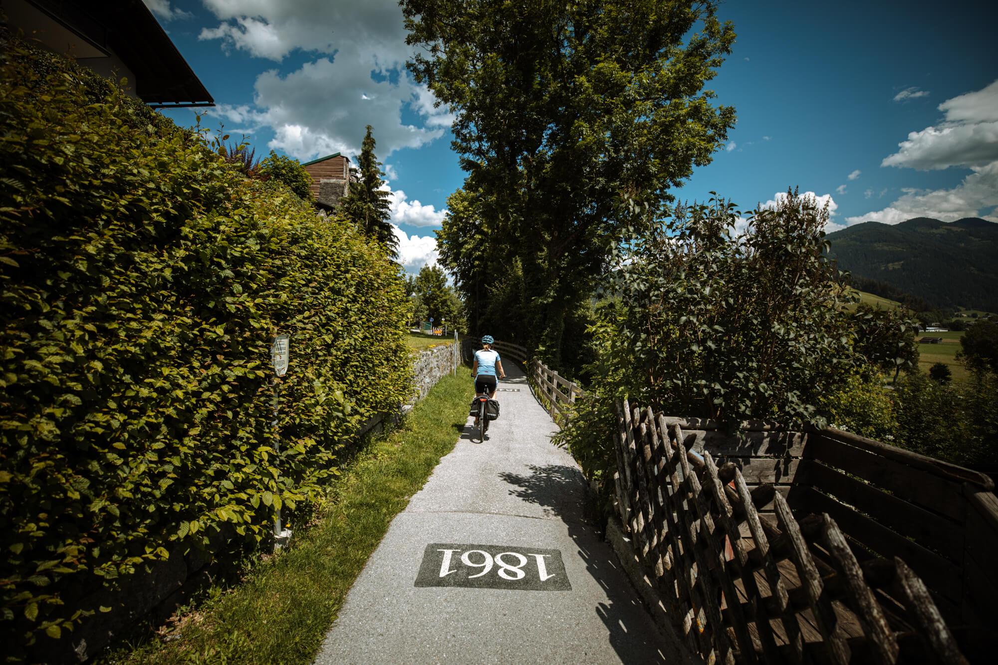 Radfahrer in Radstadt