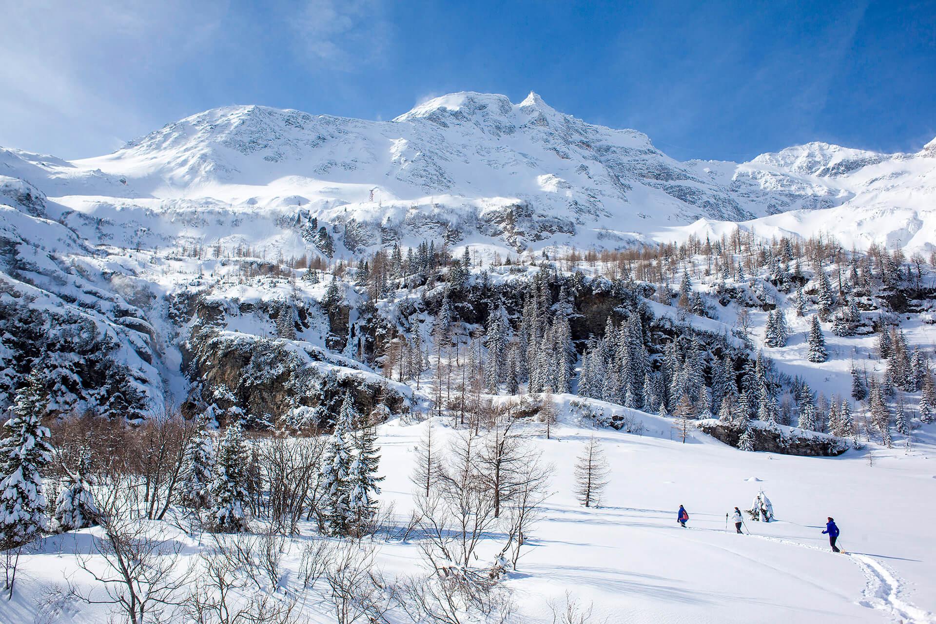 Winterlandschaft im Raurisertal