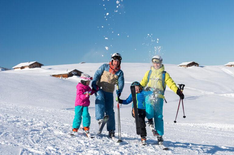 Familien-Winterurlaub im Saalachtal