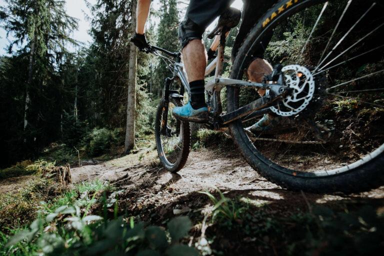 Mountainbiker in Saalfelden Leogang