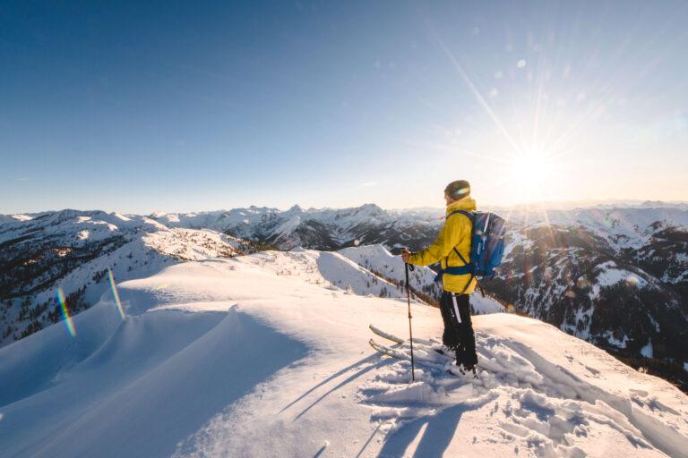 Skitouren Geher in der Region Salzburger Sportwelt