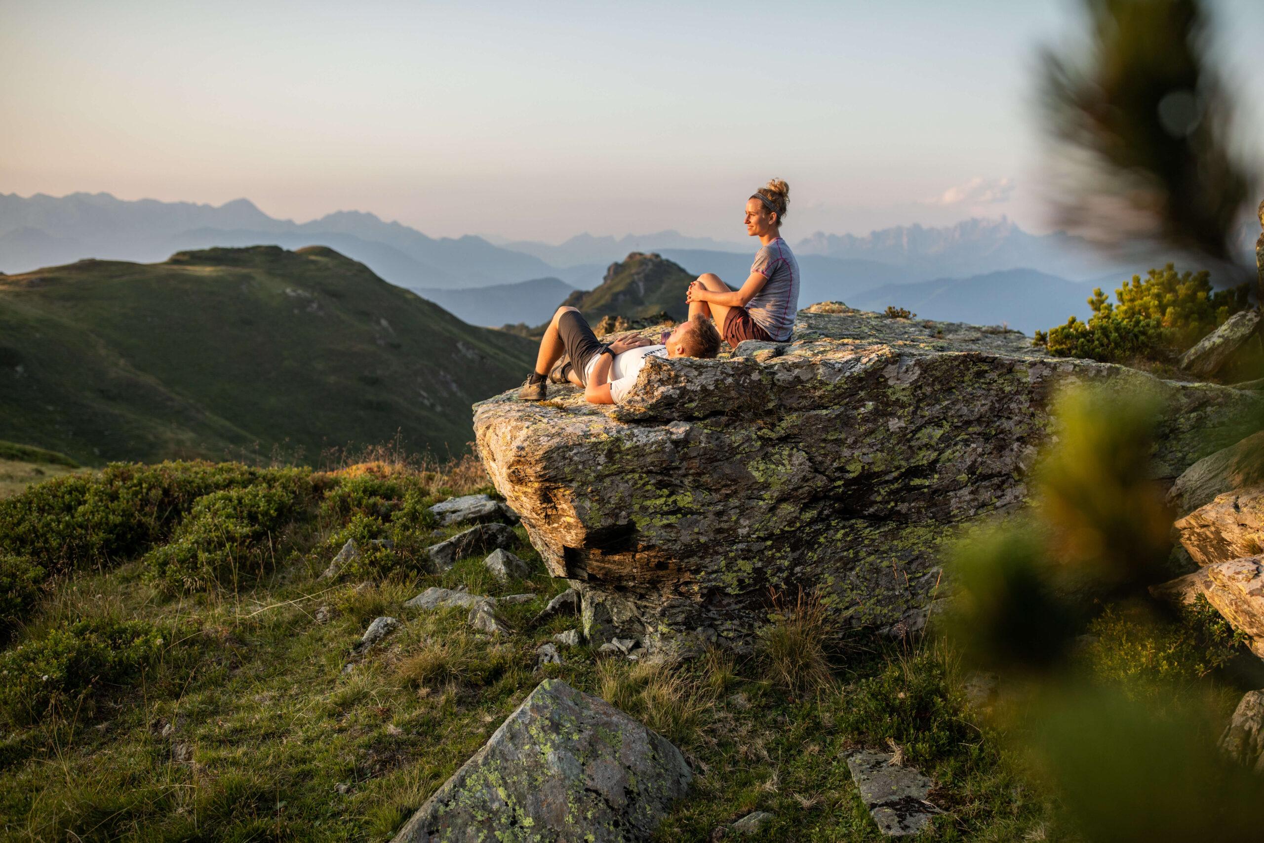 Bergblick in der Salzburger Sportwelt