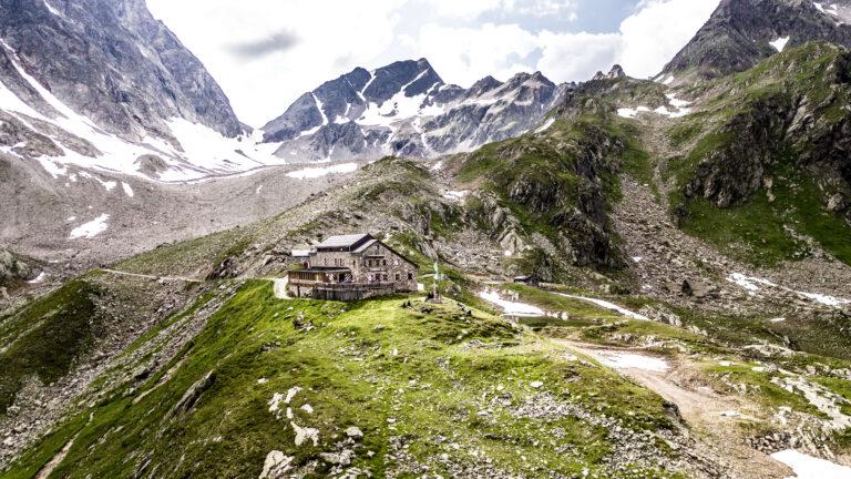 Berghütte am Arlberg