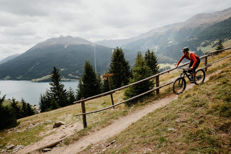 Mountainbiken rund um Nauders